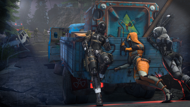 Can you push my truck? by Engin2221