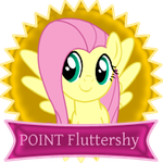 1 Point Fluttershy by telimbo