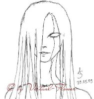 Claymore Sketches: Riful by Virtual-Flower