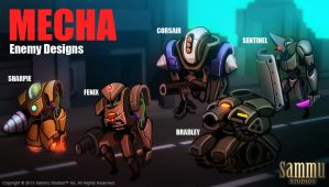 Mecha Designs, Work in Progress by cg-sammu