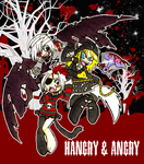 Hangry and  Angry by Sanpincha
