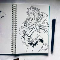Instaart - Emeralda (NSFW on Patreon) by Candra