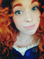 Merida Cosplay by tangledinthread