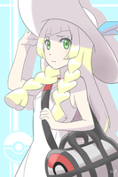 Lillie From Pokemon Sun and Moon by ChibiMaDemonPet