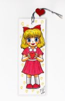 Bookmark - Paula by Goldy--Gry