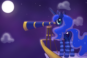 Lonely late night watch by Mindmusic