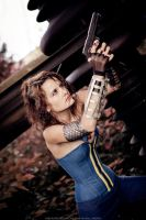 Fallout cosplay: vault 68 by CharlieHotshot