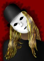 Man in a mask by HippieVan