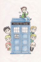 The Angels Have the Phone Box by Yolapeoples