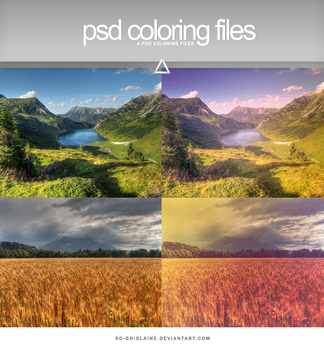 PSD - Relaxing Colors by So-ghislaine