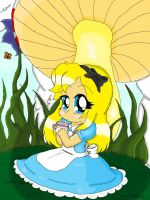 Alice in Wonderland colored :3 by Steampunky-Bunny-Boo