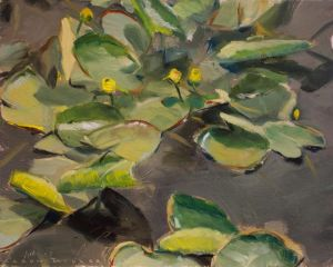 Osaka Gardens-Lilly Pads by AaronMiller