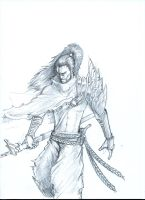 Yasuo (pencil) by Massimo-Weigert