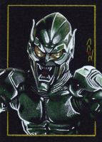 Green Goblin - Sketch Card by J-Redd