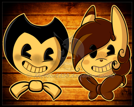 Bendy and Carmen by MyWorld35