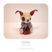 Dog PDF Pattern by Patchlins