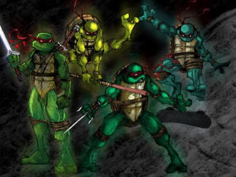 teenage mutant ninja turtles by comicsarecool