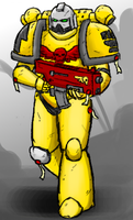 Imperial Fists by livinlovindude
