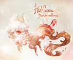 [SD] ADVENT :: Day 2 :: Hot Cocoa and Marshmallows by Sapphu-Adopts