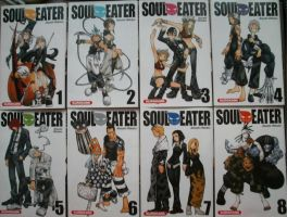 Collection Soul Eater: T1-T8 by Alicetiger