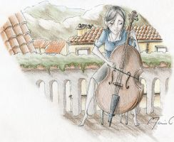 Cello by c-osmos