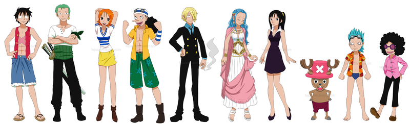 Straw Hat ages by Hapuriainen
