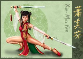 Xiu-Mei Fan The Wushu Princess by Kedishi-San