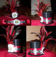 Mini Tophat for hawthorne-cat by LadyMidnight81