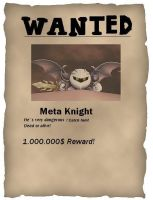 Wanted Metaknight-by evo by Evomanaphy