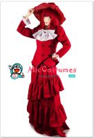 Black Butler Madam Red Angelina Durless Cosplay by miccostumes