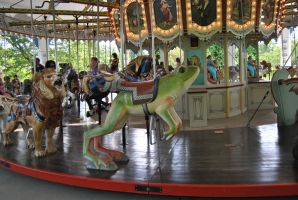 frog carousel stock by KEArnold