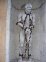 statue in chains2 by AzurylipfesStock