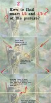 how to find exact thirds of the picture by Ithilloth