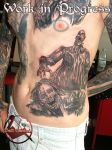 The Walking Dead Tattoo by dottcrudele