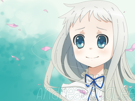 Menma - AnoHana The Flower We Saw That Day by Kairui-chan
