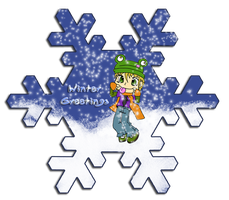 Winter Greetings by Shulky