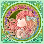 The Red-Haired Girl Art Nouveau ver by del-lune