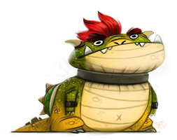 Daily Painting #720 - BAWZER by Cryptid-Creations