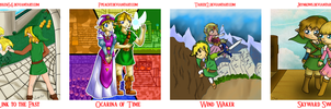 .:Zelda 26 Anniversary Collab:. by Ppeacht