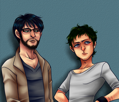 Matthew and James by Krooked-Glasses