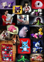 Plush Montage by Peluchiere