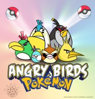 Angry Birds Pokemon by Naryu
