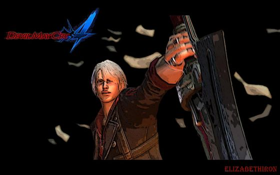 Devil May Cry 4 Wallpaper (Nero) by elizabethiron