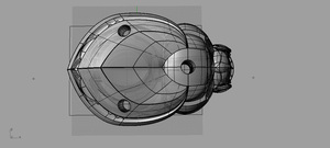 t-spline Scarab WIP phase 2,view 2 by 3DV8ion