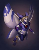 Jester on Wings by Shadow-Wolf