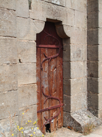 Door on Rocamadour castle by Revenia