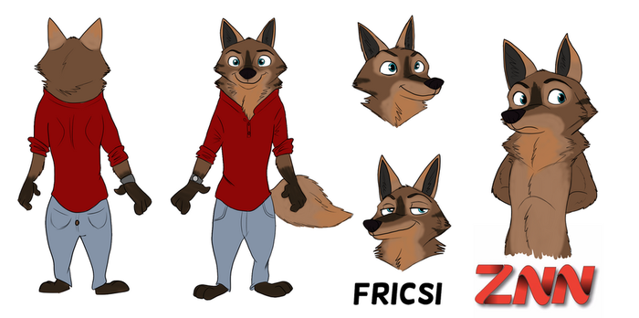 ZNN character sheet: Frisci by Quirky-Middle-Child