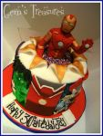 Ironman Pop Up Cake by gertygetsgangster