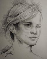 Emma Watson - work in progress - by JuliaFox90