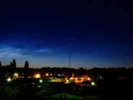 noctilucent clouds by plastic11